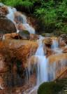 Каменный водопад.